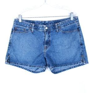 Lucky Brand Jean Shorts Mid Rise Cotton 14 (35x3)